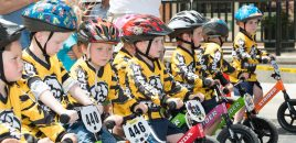 250 Racers Compete in Strider Balance Bike Races in Salt Lake City