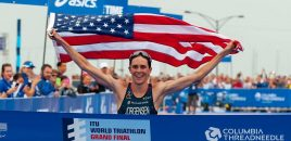 U.S. Triathlete and Olympic Gold Medalist Gwen Jorgensen to Make Marathon Debut at the 2016 TCS New York City Marathon on Sunday, November 6