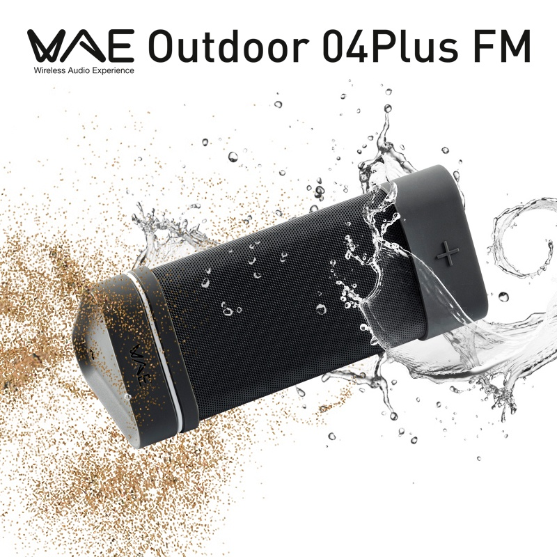 Hercules WAE Outdoor 04Plus FM Bluetooth Speaker