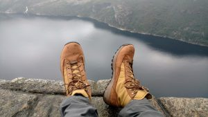 Danner Explorer 650's at Preikestolen, Norway