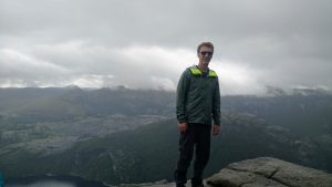 Helly Hansen Vanir Logr Jacket at Preikestolen