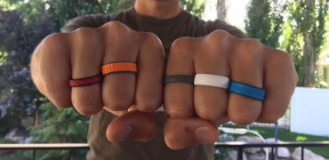 Groove silicone rings comfort, variety, and airflow