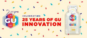 GU Energy Labs Celebrates 25 Years With Birthday Cake Gel