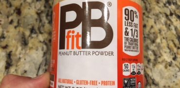 PB fit Peanut Butter Powder 90% less fat than traditional peanut butter