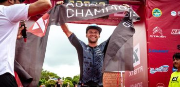 Weiss, Slater win XTERRA Asia-Pacific Championship in Kenting, TW