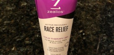 ZEALIOS Race Relief sooth sore muscles & recover faster